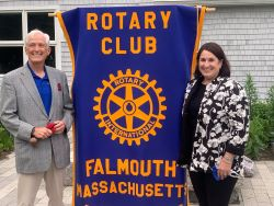 Falmouth Rotary McCadam President
