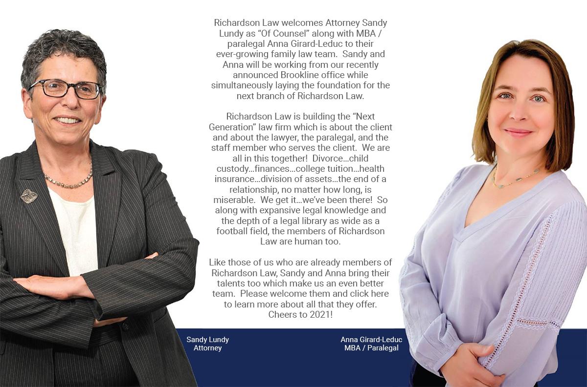 Richardson Law Hires